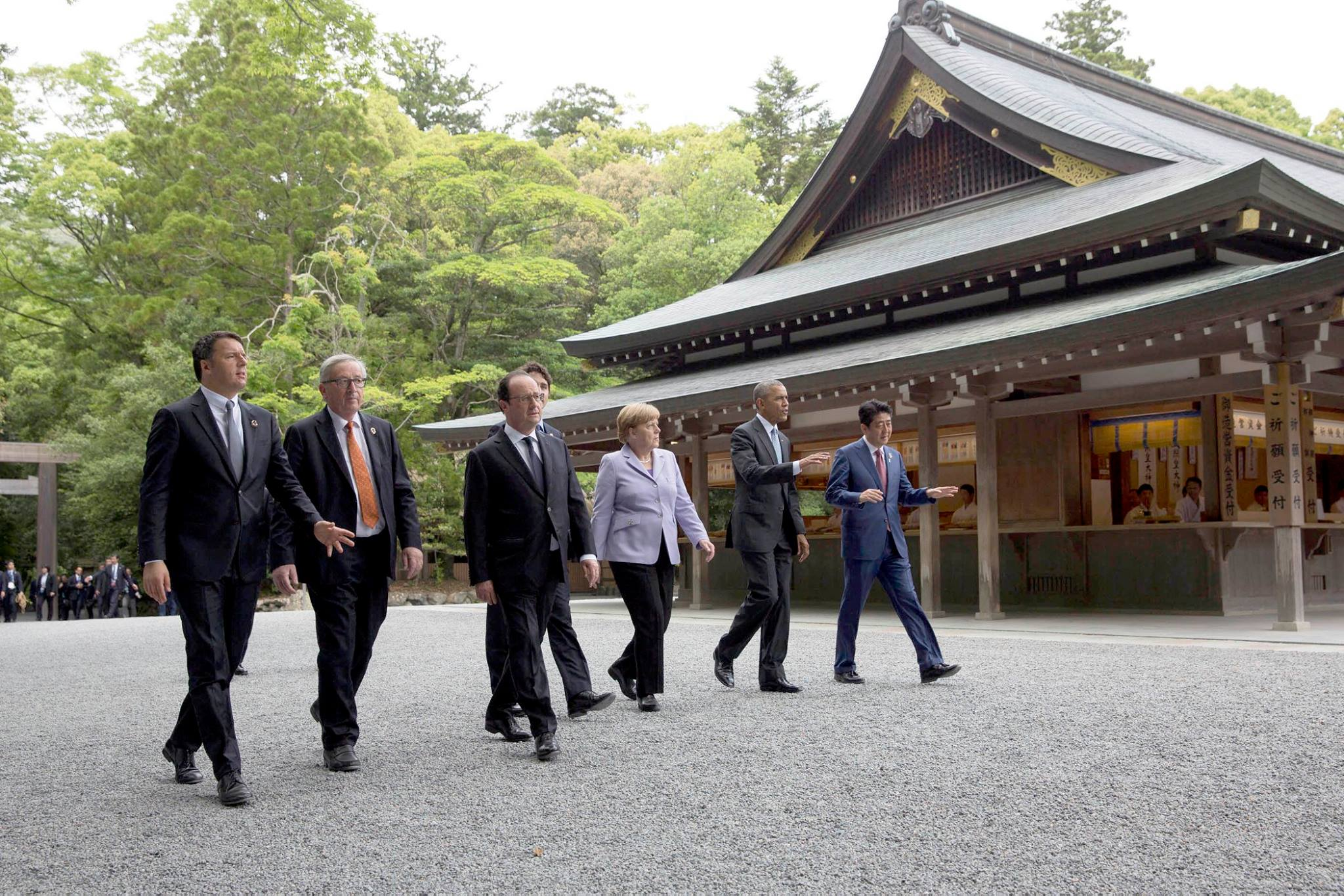 G7 summit in Ise-Shima Japan