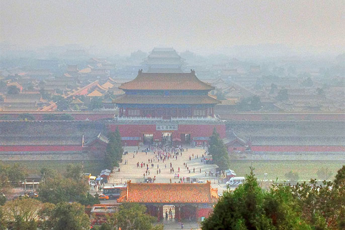UC Berkeley Beijing air pollution