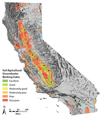 groundwater map