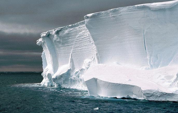UCLA ice sheet