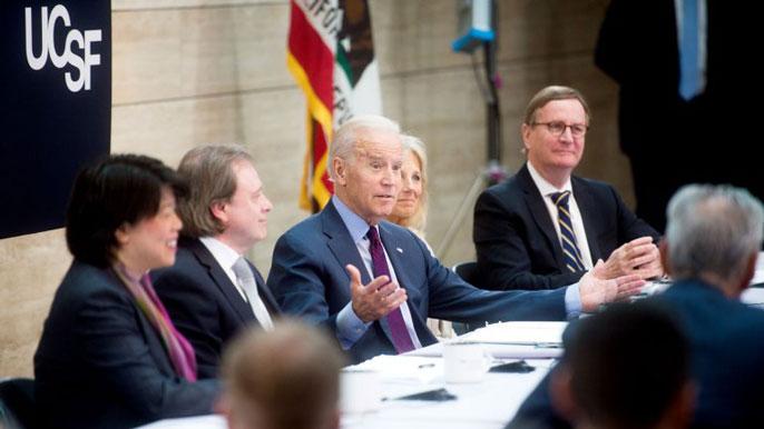 Joe Biden UC San Francisco
