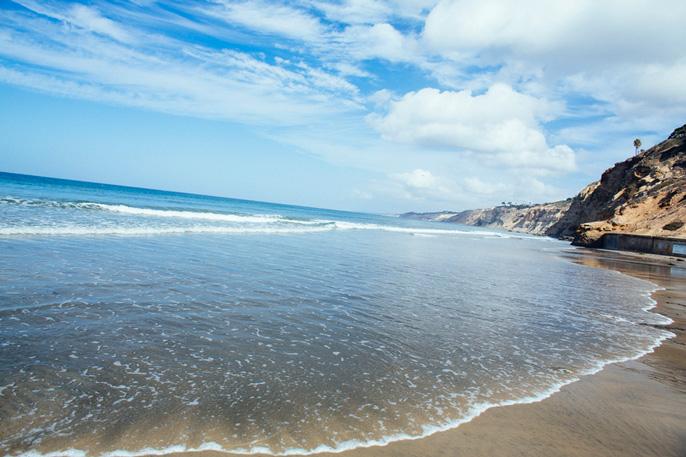 Pacific Ocean at Scripps