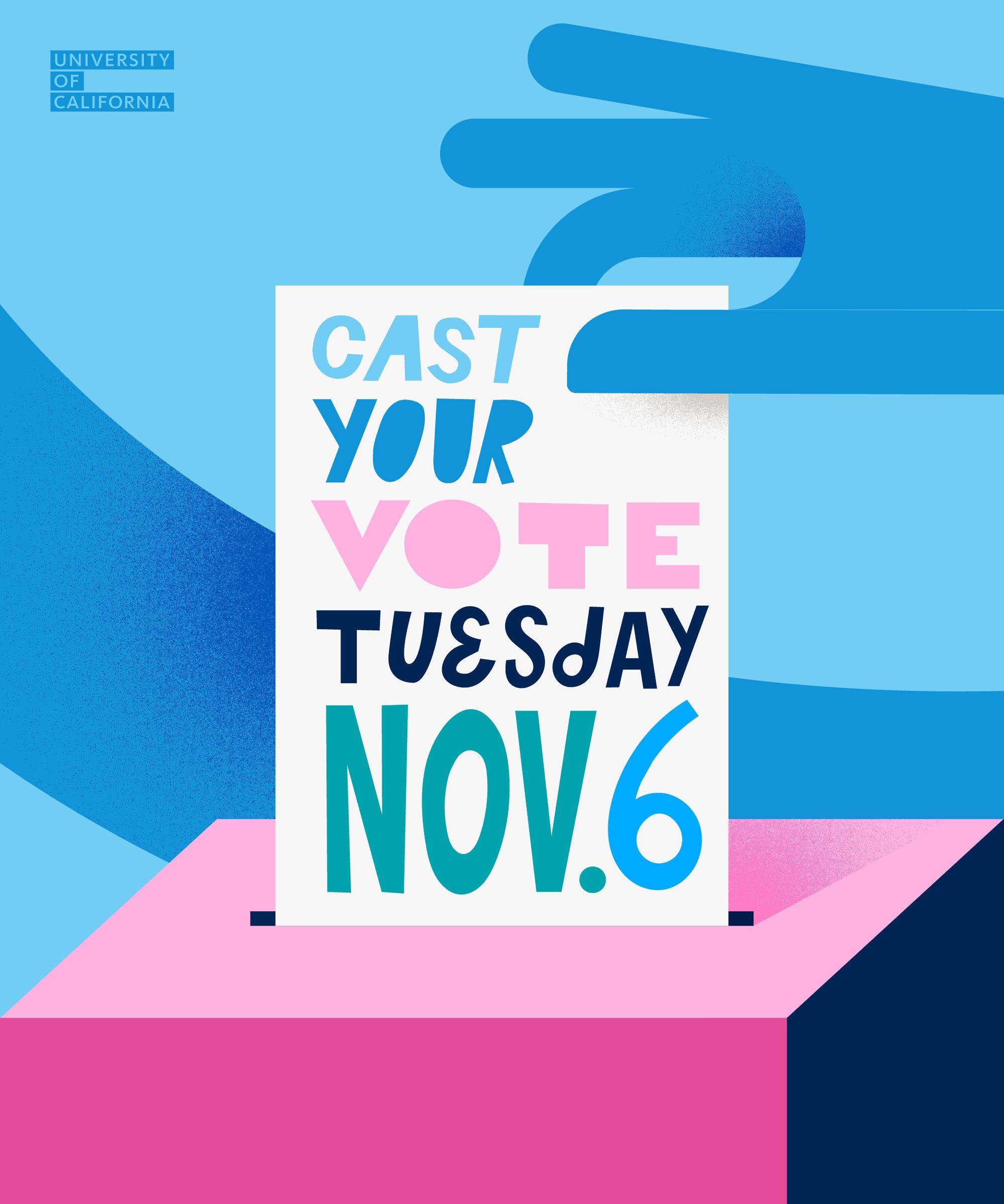 Vote Nov 6 poster