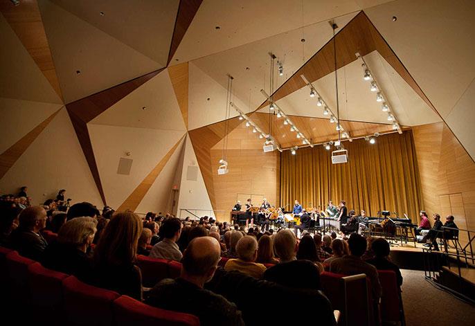 Conrad Prebys Concert Hall interior