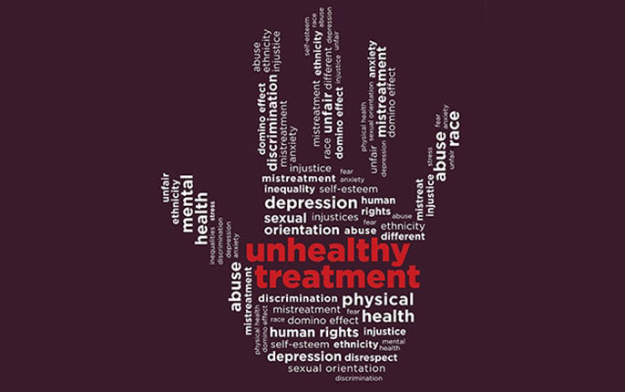 UCLA study on discrimination and mental health